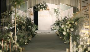 【白色情书】白色主题室内大气婚礼