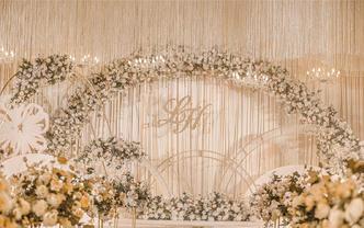 【BERRYSA婚礼】淡雅香槟色系婚礼