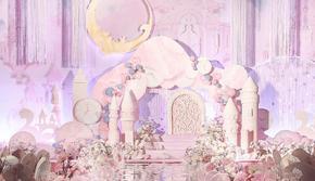 【一喜婚礼定制】唯美可爱城堡风格