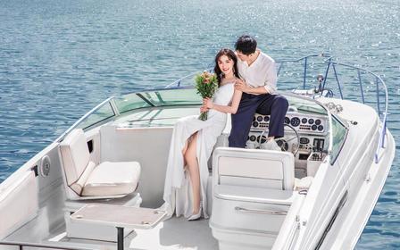 【千岛湖旅拍】法式婚纱照奢订制复古旅拍婚纱摄影