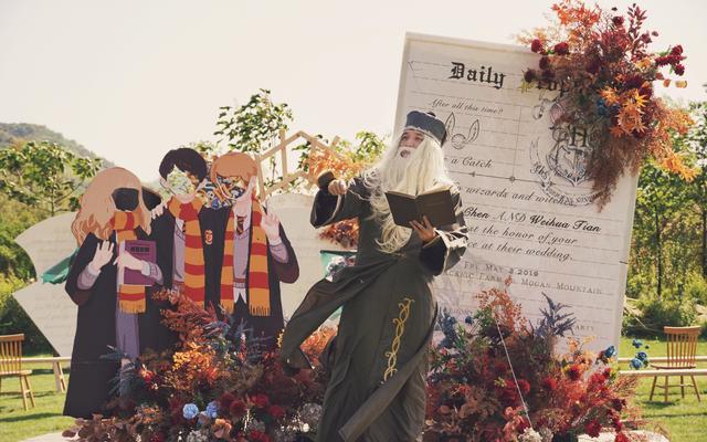 【霍格伍兹魔法学院的婚礼】哈利波特主题婚礼