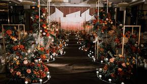 【汇爱婚礼】红棕复古西式婚礼