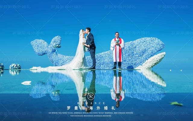 罗曼斯海外婚礼|巴厘岛天空之境婚礼—大海鱼棠