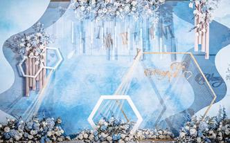 【喜尔婚礼】  蓝色小众清新婚礼