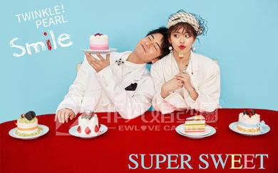 马卡龙超甜婚照系列-甜品