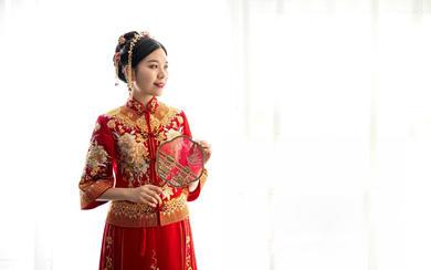 维多利亚--绝美秀禾服合集 做最美新娘