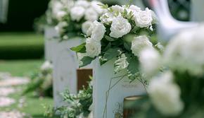 【但丁婚礼】室外小清新婚礼