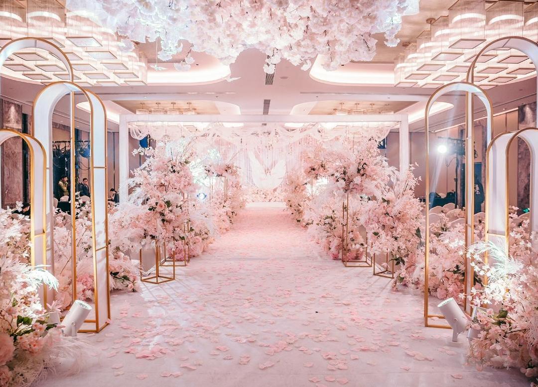 超甜-梦幻粉色婚礼