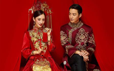 【国粹华服】必拍中国风~内外景双拍+送婚嫁礼包