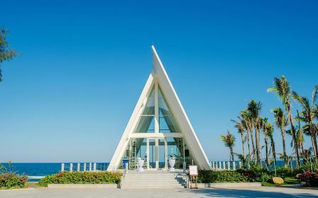 【三亚无限教堂】一价全包网红海岛婚礼