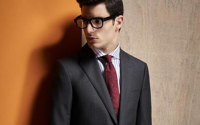都市型男系列——纯色西服