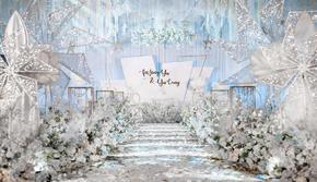 【小梦】-浅蓝色系唯美梦幻婚礼-轻奢定制