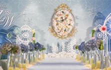 【风尚婚礼策划】—紫为你 含布置及三大金刚
