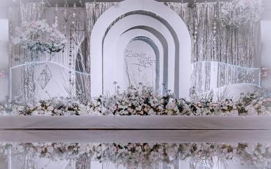 唯美梦幻风婚礼《听见花开》