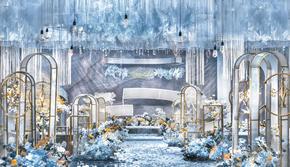 【夏威夷】蓝色梦幻婚礼--蝶恋