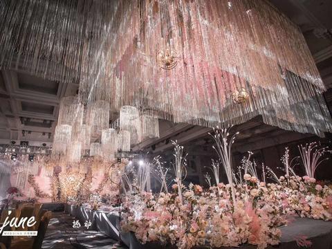 【june】主题:花海&花艺造型+灯光+布置