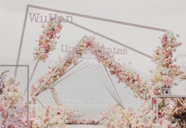 三亚水台婚礼 | 那些花儿,那些时光