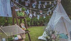 【婚礼加吃饭全包】户外小型草坪婚礼——超划算