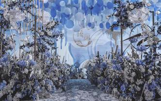 【SoulMate婚礼】新中式•蓝白色系