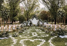 户外婚礼特辑-备受新人喜爱的草!坪!婚!礼!