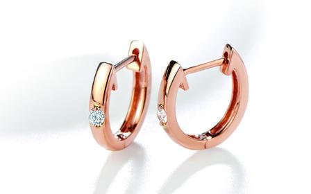 壹爱钻石轻奢款——钻石耳环