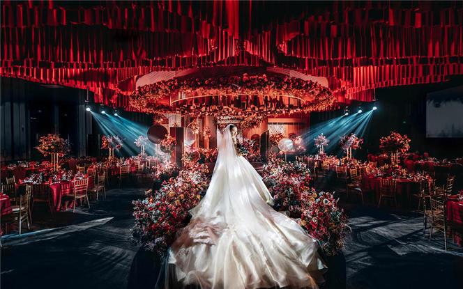 【匠心婚礼】红色大气婚礼案例