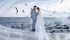 【三亚旅拍必看】穿着婚纱去旅行,一站式蜜月旅拍