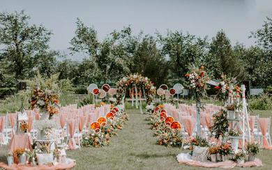 【金喜汇】户外婚礼/绿色森系婚礼风格