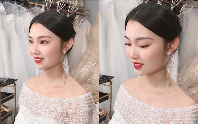 水仙新娘跟妆 | 试妆花絮