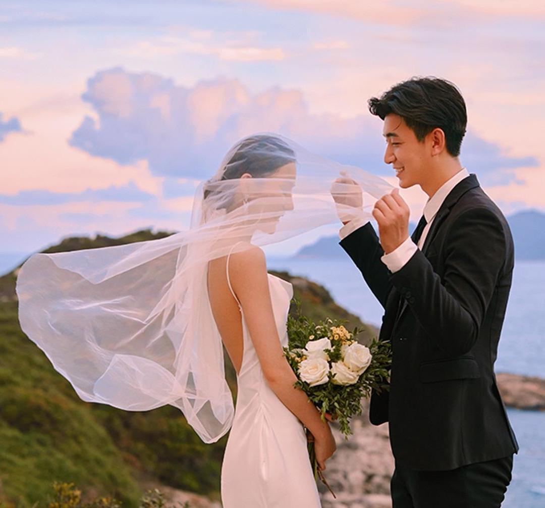 海景婚纱照—含八套服装—婚纱照必拍系列