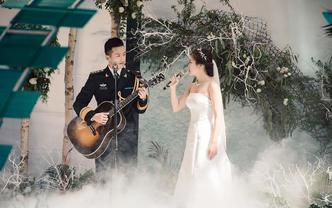 兵哥哥 创意个性小清新婚礼