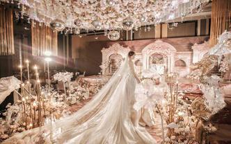 飞凌婚礼丨匠心之作 奢华欧式宫廷 浓郁撞色超大气
