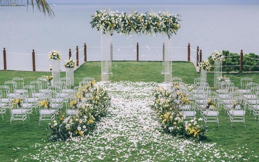 【三亚创客婚礼】亚龙湾美高梅草坪婚礼