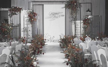 【安东妮】来点不一样的红黑白复古婚礼