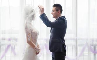 鹿刻Luck首席单机位婚礼跟拍||小清新西式婚礼