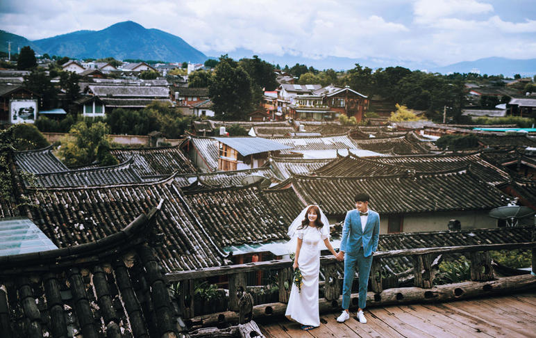 【丽江古镇】网红路线+雪山远景+住宿接机
