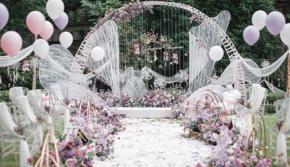 【萝亚婚礼】小清新+鲜花+户外婚礼