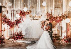【金禧婚礼策划】香槟色主题婚礼 萦绕