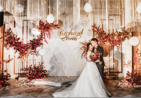 【金禧婚禮策劃】香檳色主題婚禮 縈繞