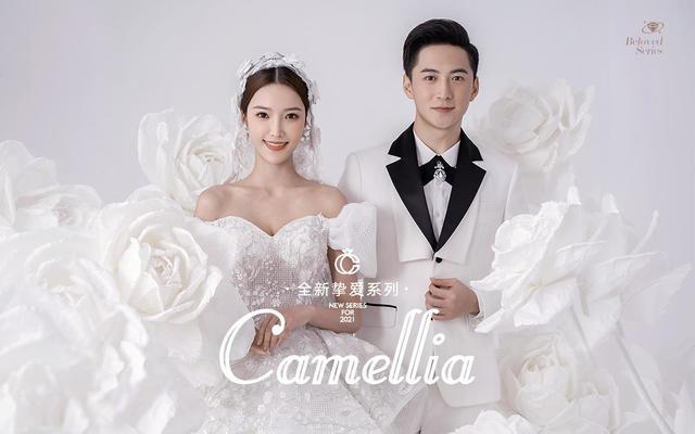 古摄影 新品《Camellia》经典白纱韩式婚纱