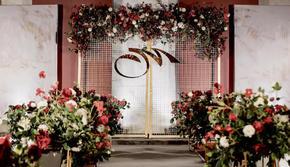 【小时光】浅白草绿的极简小清新婚礼现场