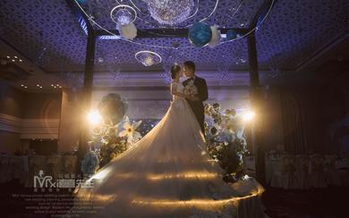 囍先生婚礼·星河·梦幻蓝色星空