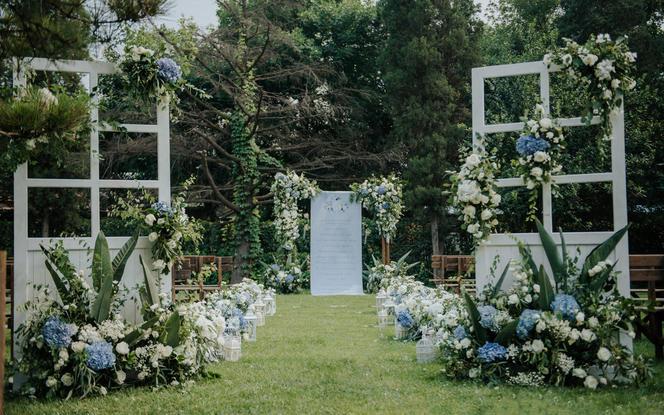 喜上策划 | 一价全包户外清新婚礼