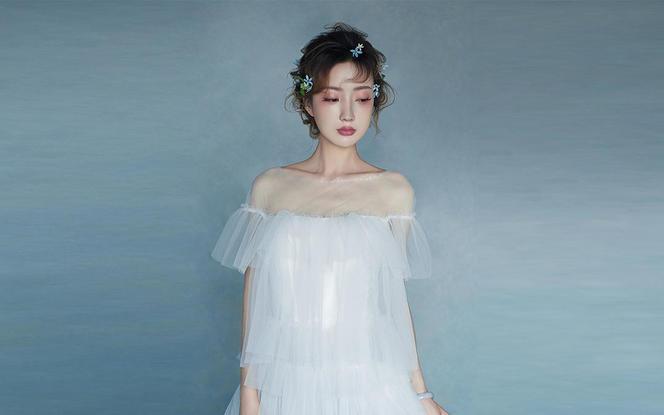 【新娘+新郎】3件品牌婚纱+赠送全新男装三件套