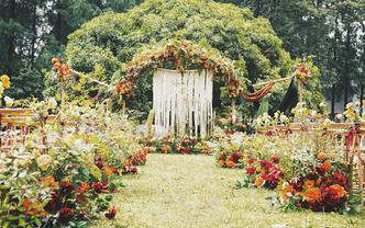 【LAN婚礼】清新自然森系草坪婚礼