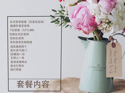 本月赠送千元礼包-爆款小清新风格婚礼