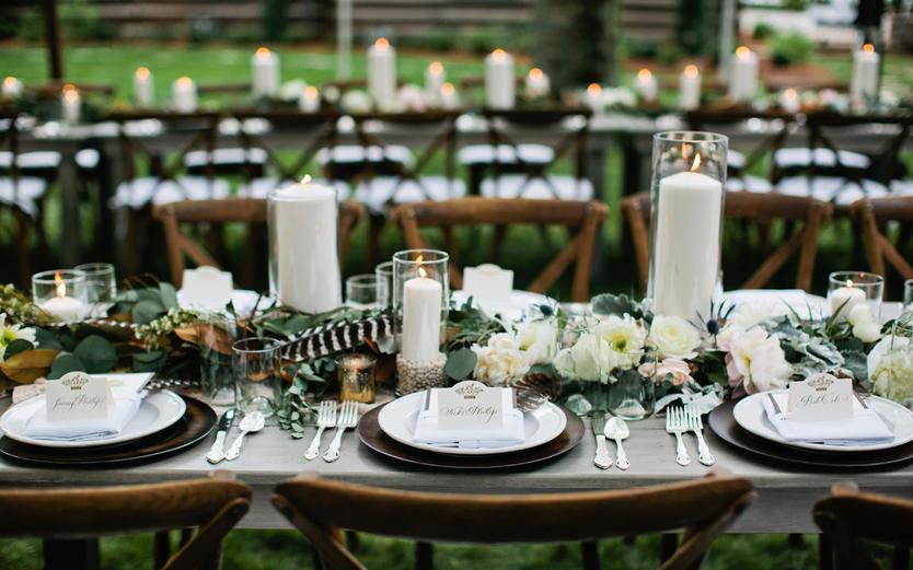 浪漫烛光晚餐-温馨婚礼晚宴