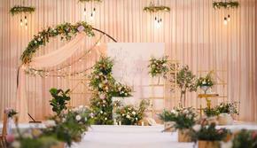 暖暖--香槟色清新小型婚礼