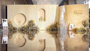 【梦梵婚礼】6折泰系风格黄白色系包含四大金刚