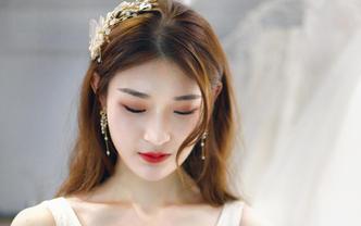 慕恩资深档化妆师新娘跟妆+送妈妈妆发